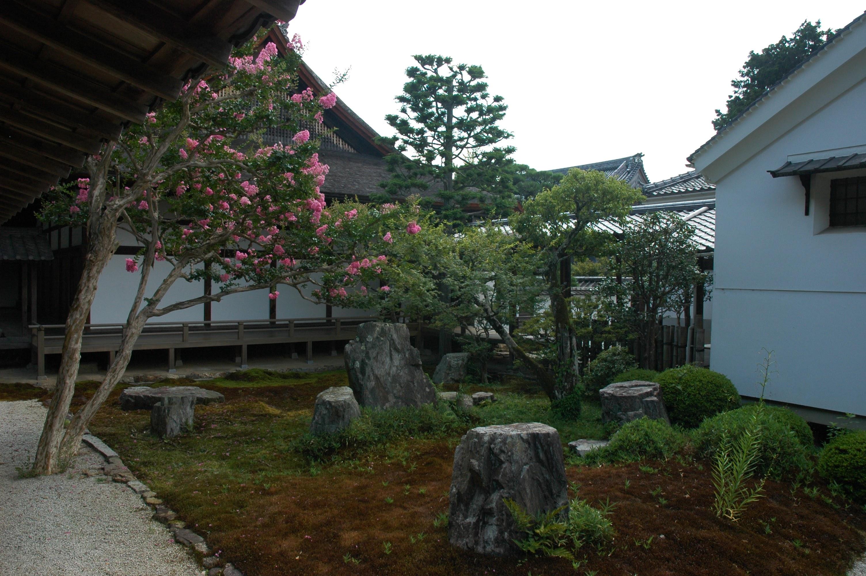 Zen complex garden
