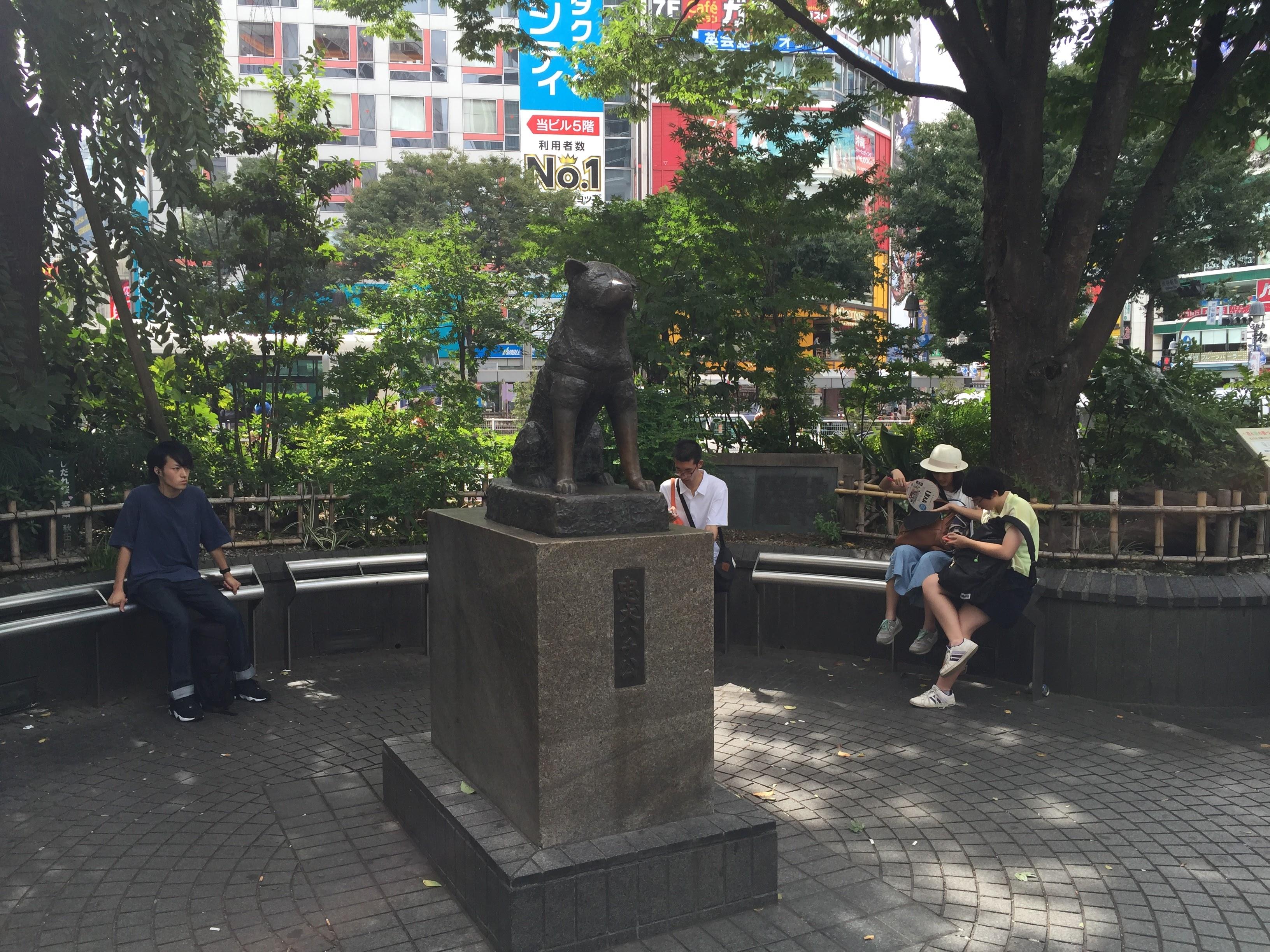 Statue de Hachiko