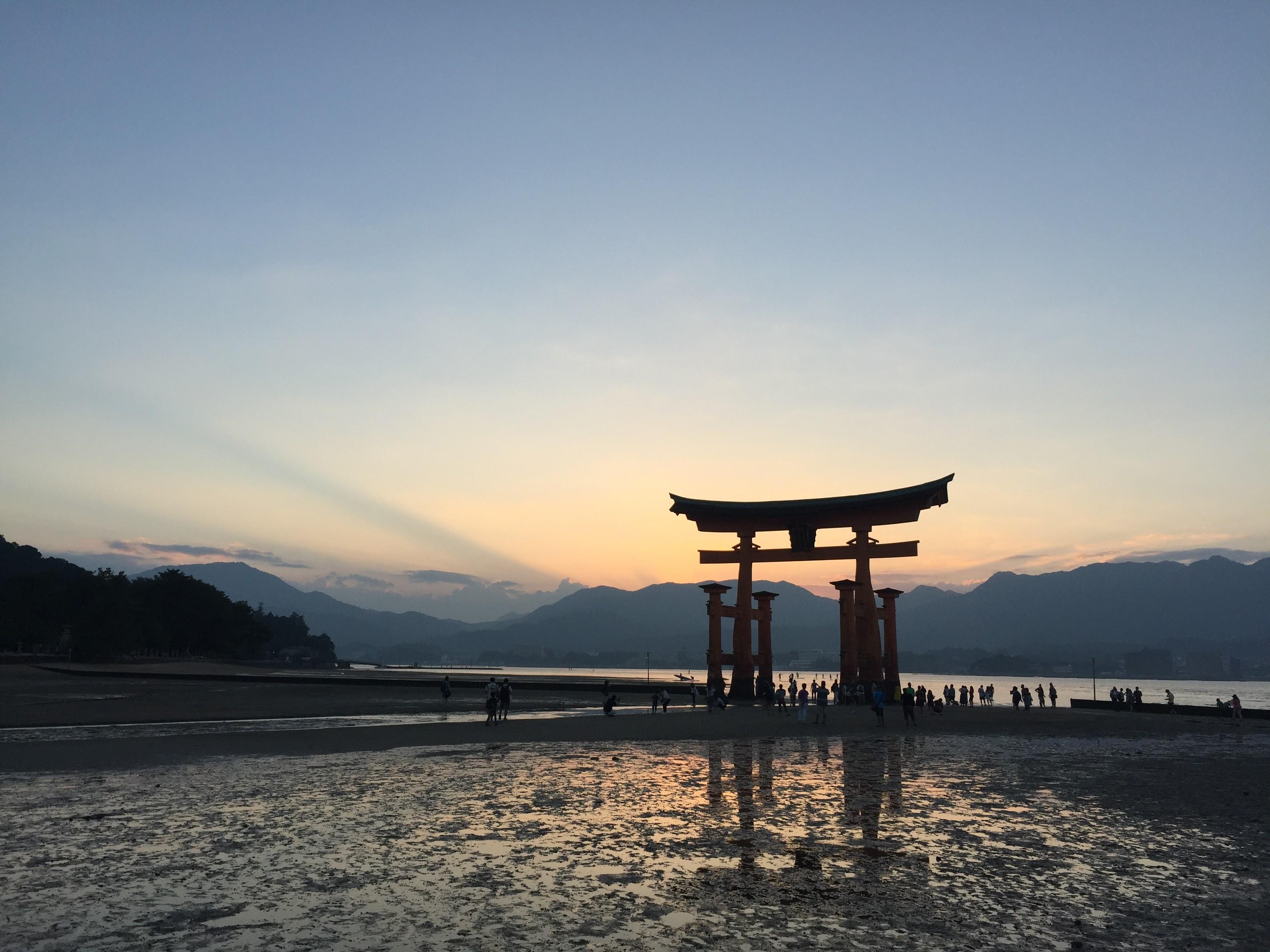 Miyajima's bay torii