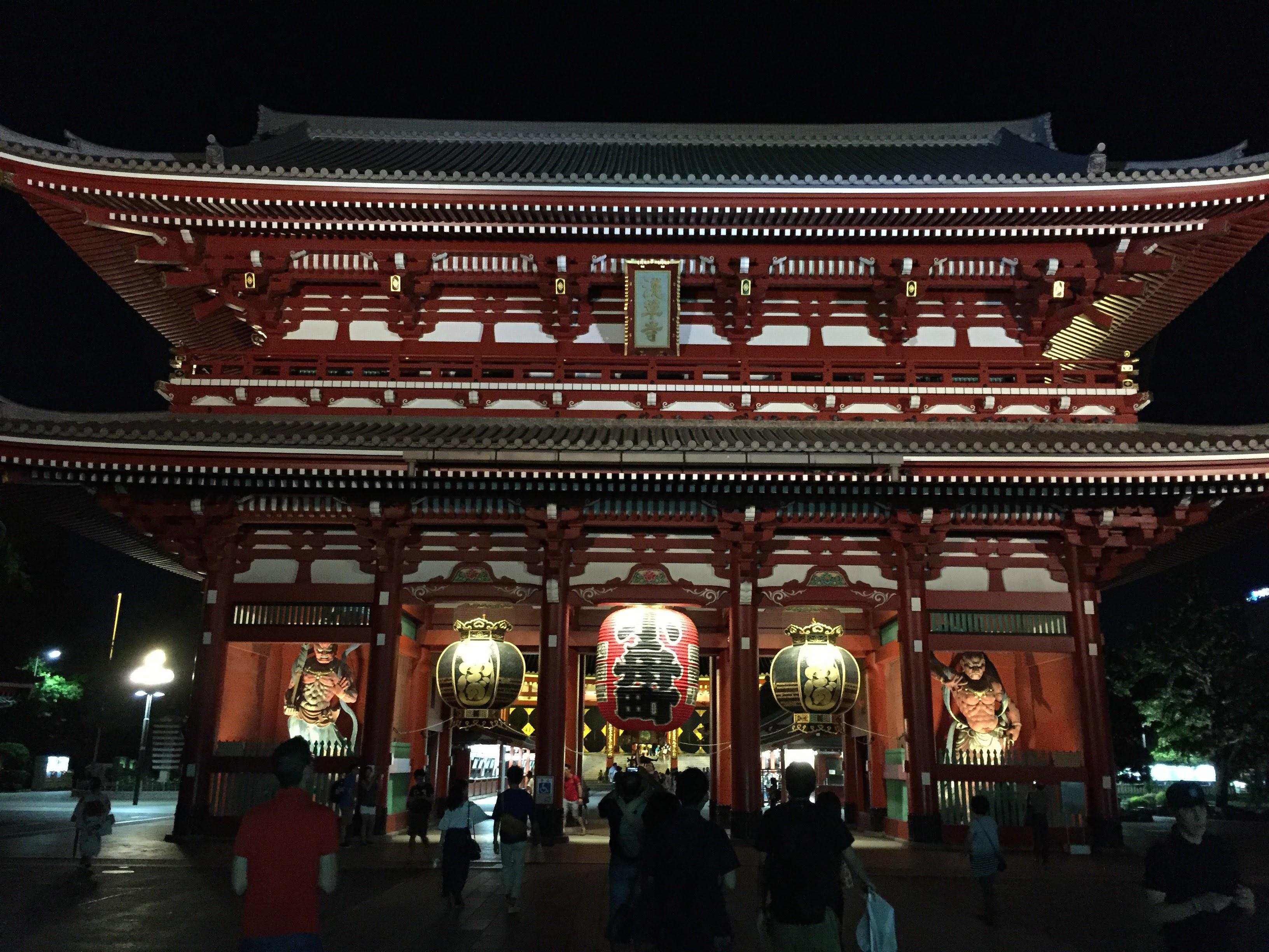 Asakusa temple main gate