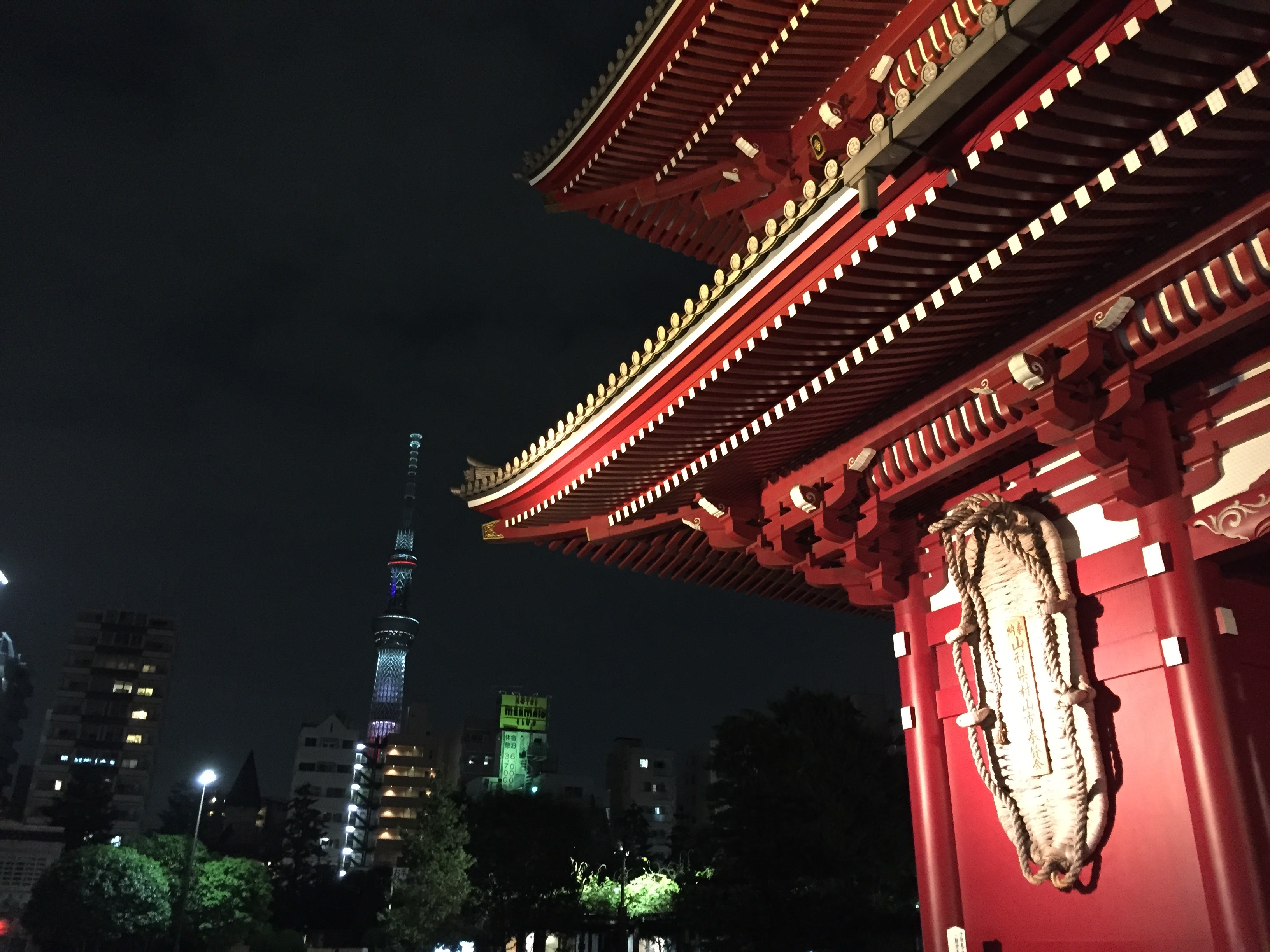 Asakusa temple detail