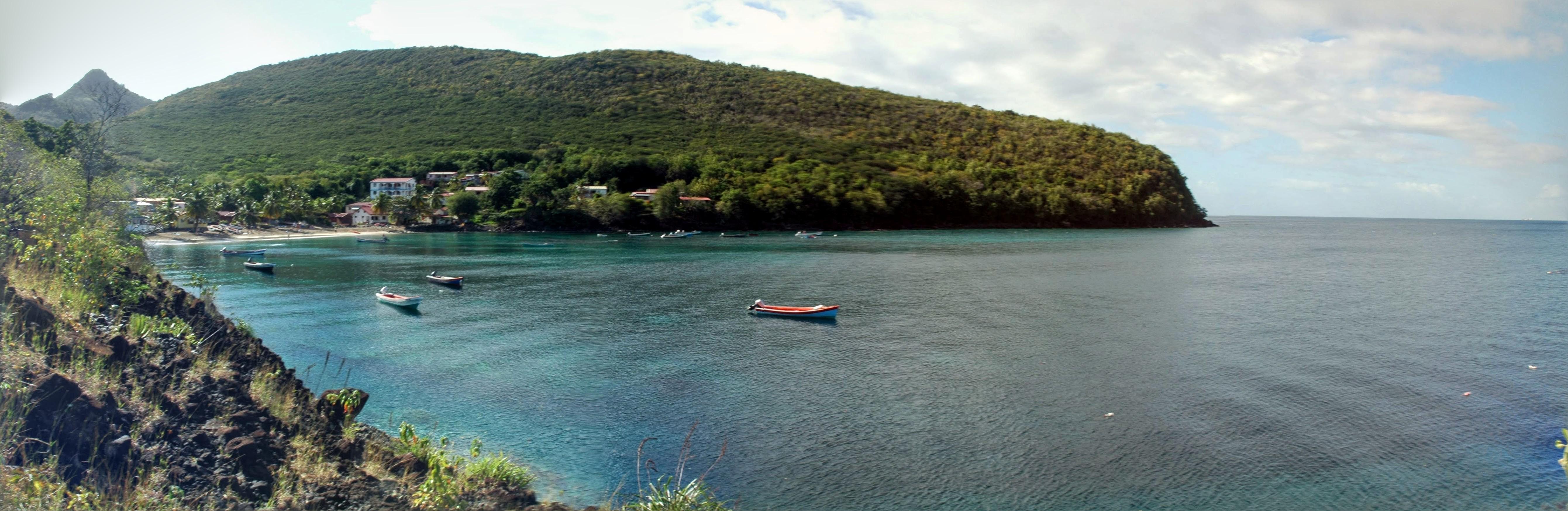 Panoramique de l'Anse Dufour