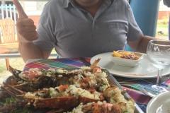 Langoustes et poissons grillés chez Pignon Nouvelle Vague