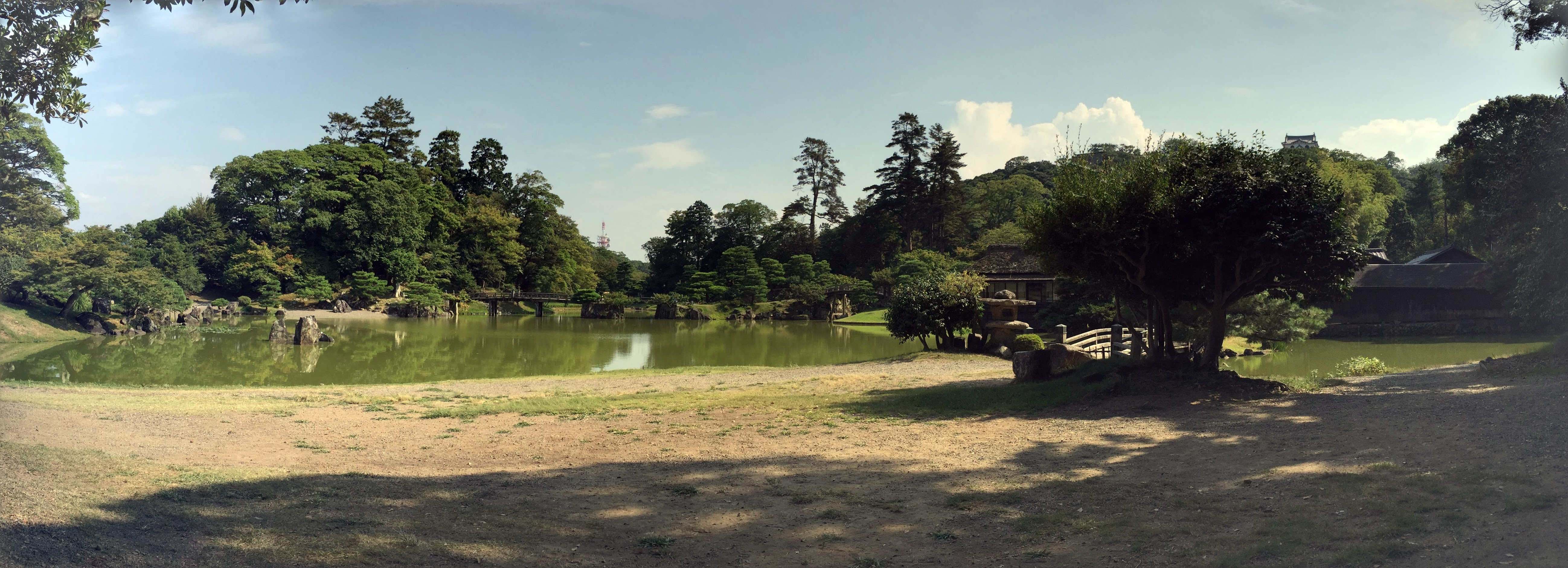 Hikone castle gardens