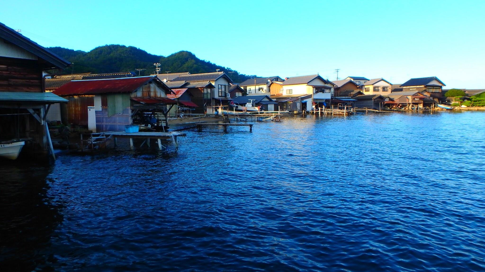 Amanohashidate bay